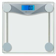 Etekcity Digital Body Weight Bathroom Scale With Body Tape Measure, Tempered