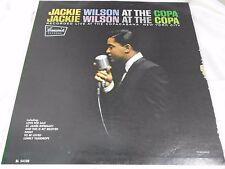 Jazz Pop LP: Jackie Wilson ~ at the Copa ~ BRUNSWICK BL 54108 BLACK LABEL