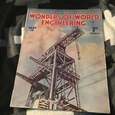 WONDERS OF WORLD ENGINEERING. PART 14. 1938