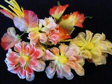 "Vintage Millinery Flower Collection Pink Coral 2- 3"" Japan H3084"