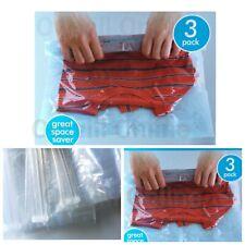 Small Hand Vacuum Storage Space Saving Seal Bags Suitcase Vacum Travel 38x54cm