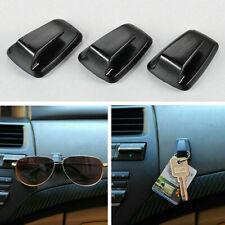 3*Universal Car Keys Bag Hanger Hook Holder Sun Eye Glasses Clip Adhesive