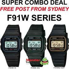 COMBO DEAL FREE POST FROM SYDNEY CASIO RETRO F-91W-1, F-91W-3, F91WG-9