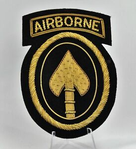Special Operations Command - Airborne Bullion Patch Blazer Reunion Beautiful