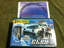 G i joe GI Joe Wolf Hound Vehicle with White Out Figure New