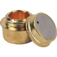 Highlander Brass Alcohol Meths Spirit Stove Camping Army Military Cooker Burner
