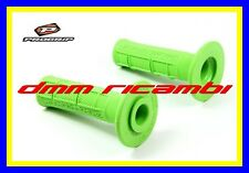 Manopole Cross PROGRIP 794 Moto Scooter Mini Pit-Bike Enduro Motard MX Verde