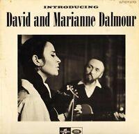 DAVID AND MARIANNE DALMOUR introducing SCX 3580 1U/1U first press uk LP PS EX/EX