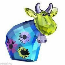 Swarovski Flower Power Mo, Limited Edition 2013, Cow Crystal Figurine - 1143436