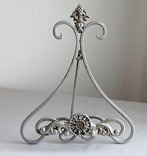 "Vintage ""Art Nouveau"" Silver Metal Picture Frame Holder-JaNice Interiors Accents"