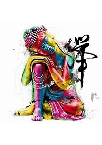 BUDDHA FENG SHUI BY PATRICE MURCIANO STANDARD SIZE POP ART PRINTS-KEYRINGS-MUGS