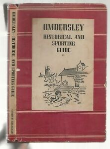 OMBERSLEY HISTORICAL  AND SPORTING GUIDE WORCESTERSHIRE OLD BOOK