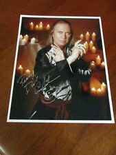 DAVID CARRADINE autograph/signature COLOR 8x10  KUNG FU Kwai Chang Cane