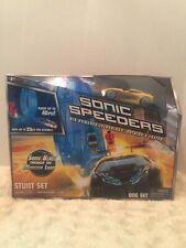 Race Track Sonic Speeders New Stunt Set Launcher Car New Sealed Box