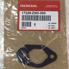 HONDA MOTOR CARBURETOR AIR CLEANER GASKET PART NUMBER 17228-ZM0-000 NEW