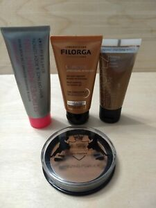New Bronzer Shimmer Instant Tan Beauty Bundle Powder, St.Tropez,Filorga, Revers