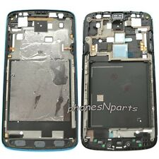 OEM AT&T Samsung Galaxy S4 Active i537 i9295 Frame Chassis Housing Bezel Blue