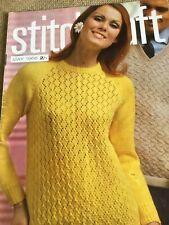 Stitchcraft Magazine May 1966 Holiday Atmosphere Edition!