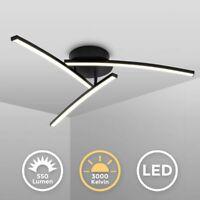 LED Design Deckenlampe Wohnzimmer Schwarz modern Deckenleuchte schwenkbar 15W