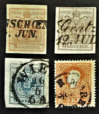 AUSTRIA FIRST STAMPS