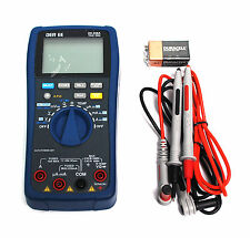 1pc DMM DE-208A 6700 counts Digital Multimeter (Trur RMS) DER EE Taiwan