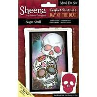 NEW Sheena Douglass Die Set Day of The Dead Sugar Skull