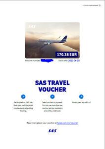 SAS Travel Voucher Fluggutschein 170€