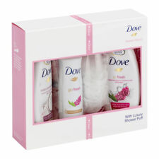 3x Dove Radiant Beauty 4-Pieces Gift Set l PERFECT CHRISTMAS GIFT