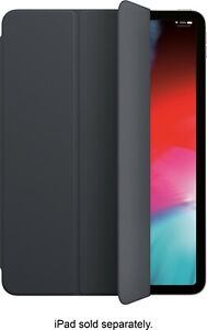 Apple - Smart Folio for 11-inch iPad Pro 1st Generation - Charcoal Gray
