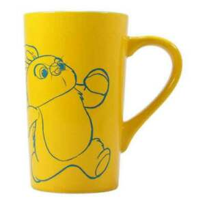 Toy Story Latte Mug Ducky and Bunny Logo new Official Yellow Boxed One Size