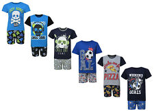 Boys Shortie Pyjamas Justice League Minion Turtles 2 3 4 5 6 7 8 9 10 age Cotton
