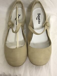 Repetto Belinda Baby Sable 39  V458TO 345 NEW IN BOX
