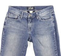 LUCKY CLASSIC RIDER CROPPED Women's Jean Med Wash Stretch Size 4/27 EC