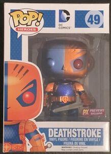 Deathstroke Funko Pop Vinyl DC Comics #49 PX Previews Exclusive New