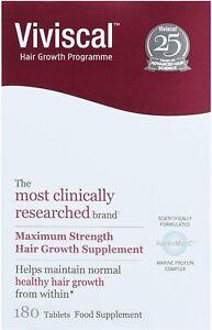 Viviscal Maximum Strength Hair Growth Supplement 180 Tablets