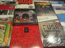 RUSH COLLECTION 2112 + MOVING PICTURES BOX - LIVE AIRWAYS - CLOCKWORK 33LP SET
