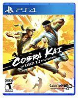 Cobra Kai The Karate Kid Saga Continues PS4 BRAND NEW SEALED Sony Playstation 4