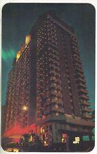 HOTEL PARAISO MARRIOTT at night Acapulco Mexico POSTCARD 1980