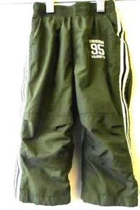 Toddler Boys Green Sweat Pants By Osh Kosh Size 18M