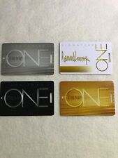 4 TRUMP ONE Slot /Players Cards Casino Chairman Signature Executive Lot Rare!
