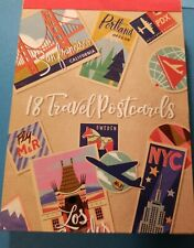 Stationery Travel Trip 18-ct Postcard Pad - Jetsetter 38747
