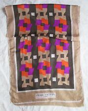 auth Echarpe foulard en 100% soie - PIERRE BALMAIN Paris -  Scarf
