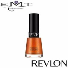 Revlon Scented Nail Enamel Nail Polish Orange Fizz - Full Size - Brand New