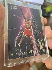 Michael Jordan 1993-1994 FLEER ULTRA SCORING KINGS #5 of 10 Chicago Bulls