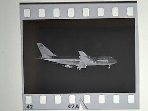 NORTHWEST AIRLINES Boeing 747 N602US Original Airline 35mm Negative