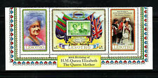 LESOTHO #313a-c  1980  QEII, QUEENS MOTHER 80TH BIRTHDAY  MINT  VF NH  O.G  S/3