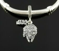 New Authentic Pandora Disney Exclusive STAR WARS Millennium Falcon Dangle Charm