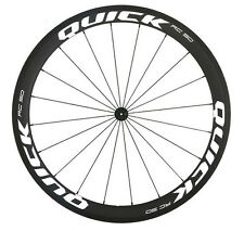 CARBON ROAD BIKE DEEP RIM WHEEL STICKERS DECAL SET FOR TWO RIMS SELECTABLE COLOR