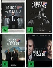 16 DVDs * HOUSE OF CARDS - STAFFEL /SEASON 1 - 4 IM SET Kevin Spacey # NEU OVP <
