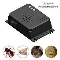 Car Vehicle Ultrasonic Mouse Repeller Gauge Rat Rodent Pest Animal Deterrent-DC